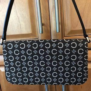 Handbags - 2/$15 Brown & Cream Mini Bag